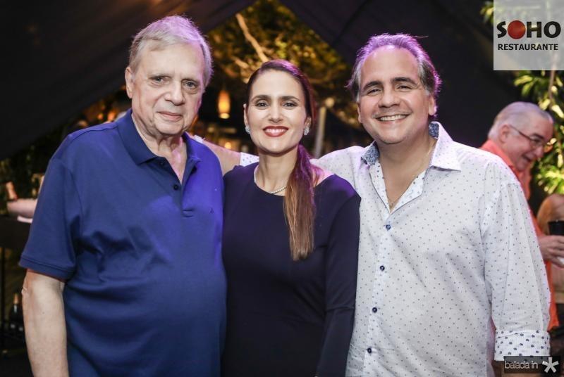 Tasso Jereissati, Manoela e Ricardo Bacelar
