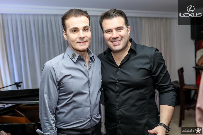 Rodrigo Maia e Danilo Dias
