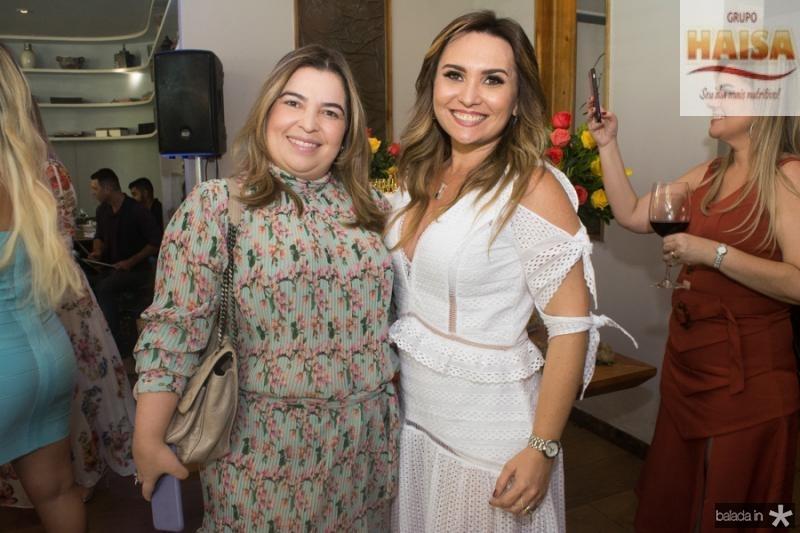 Ana Cecilia Pinho e Socorro Medeiros