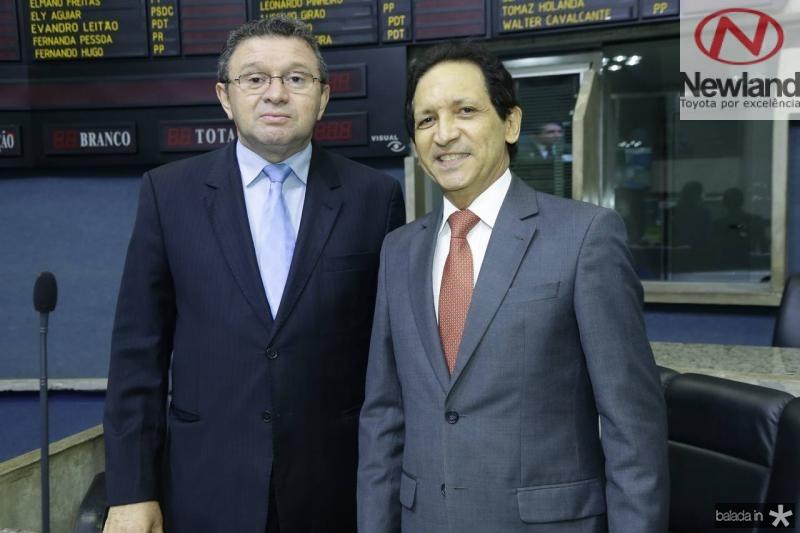 Jose Feitosa e Djalma Pinto