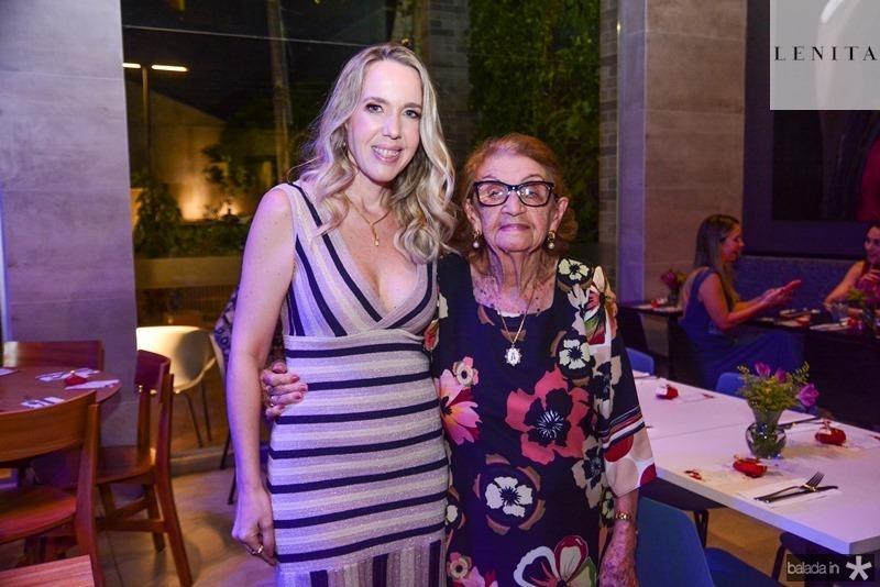Erika Figueiredo e Dona Imilce