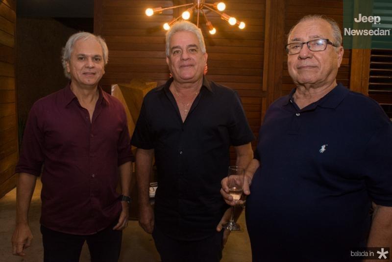 Ricardo Rolim, Marcio Fiuza e Cesar Rossas