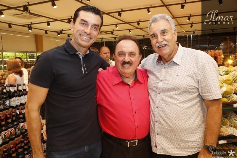 Cesinha Roma, Mazinho Guimaraes e Cesar Roma