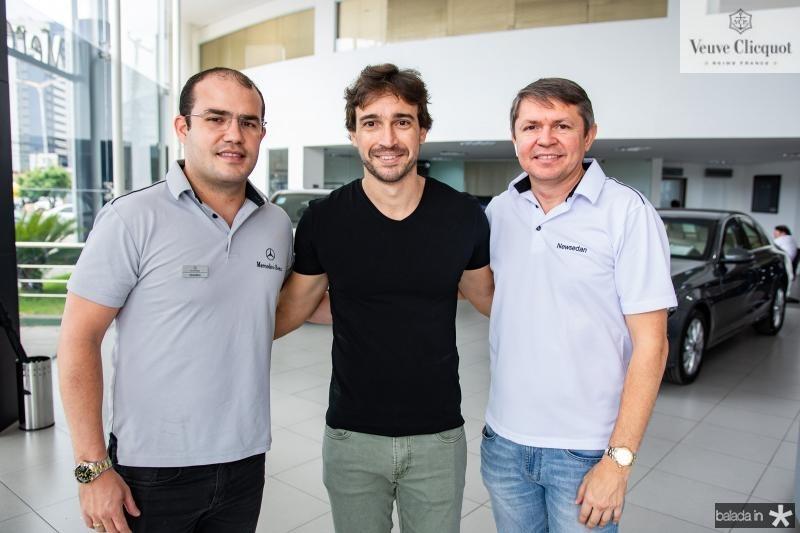 Eduardo Weinar, Rodrigo Carvalho e Luciano Teixeira