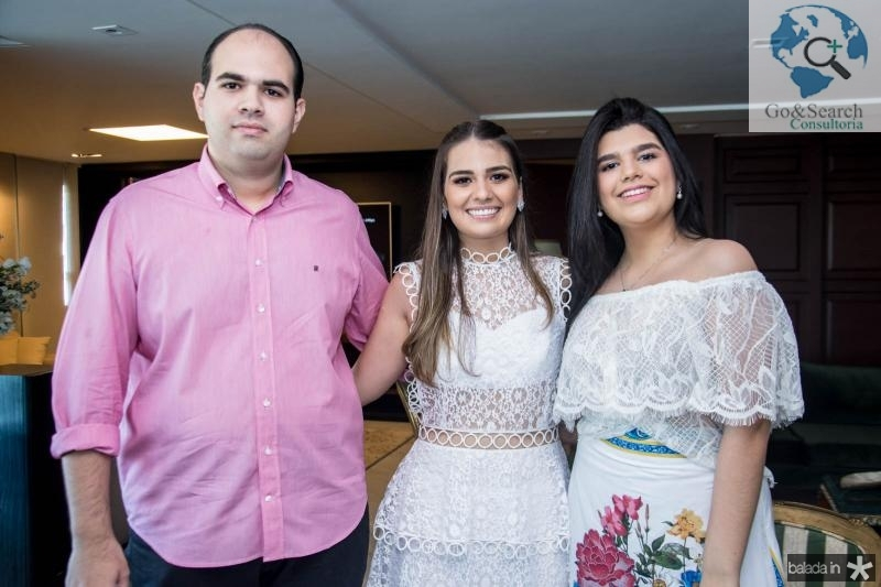 Jorio Câmara, Manuela Câmara e Marcelle Câmara