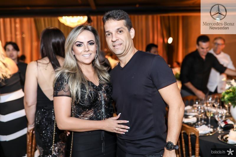 Adricia Cavalcante e Edson Capelo