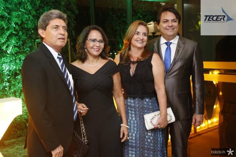Nino e Ivanildes Menezes, Teresa e Tarcisio Porto