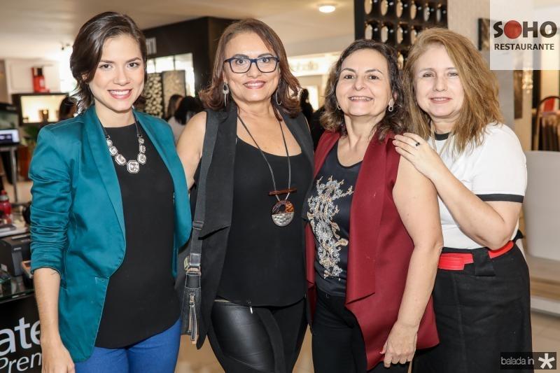 Zeli e Catarina Ramos, Lidia Militao e Karen Pereira