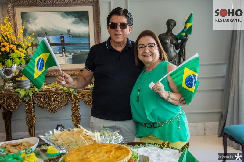 Dito Machado e Mana Luna