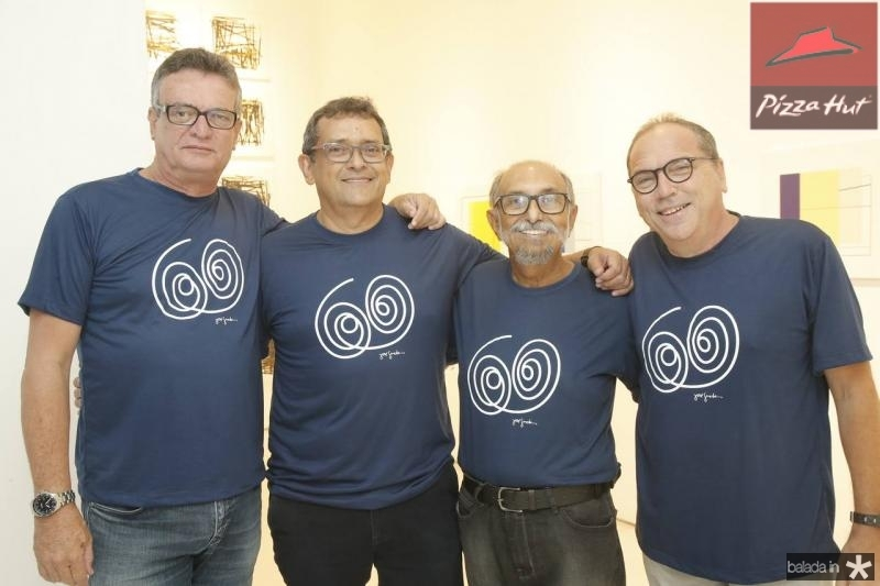 Tulio Maranhao, Jose Guedes, Roberto Galvao e Neto Galdino