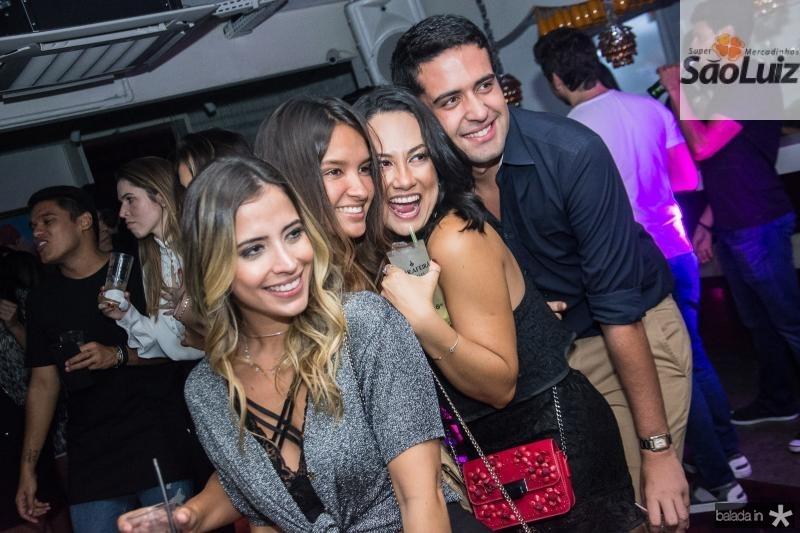 Mikaela Botura, Mariana Araripe, Daniela de Paula e Victor Oliveira