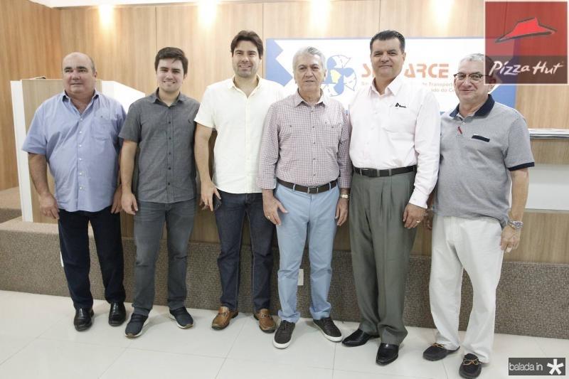Roberto de Paula, Idemar Filho, Raphael Boris, Clovis Nogueira, Odimar Feitosa e Marcelo Maranhao