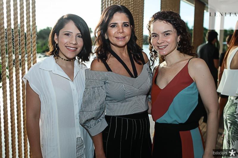 Aline Benigno, Maria Lucia Negrao e Sheyla Brasil