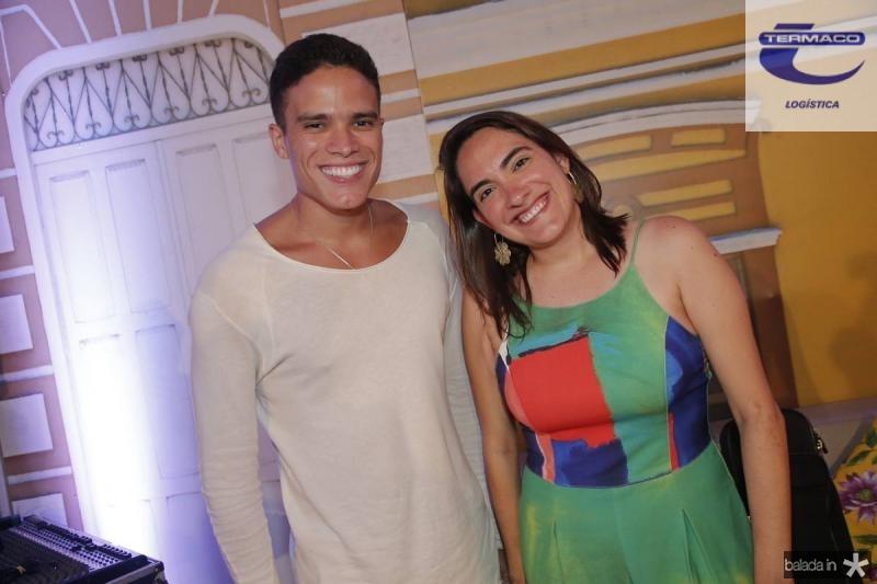 Marcos Lessa e Rebeca Camara