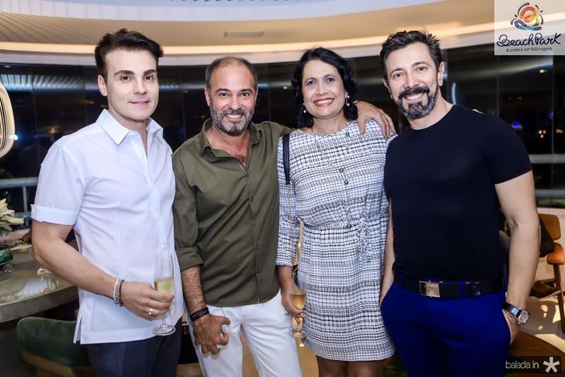 Rodrigo Maia, Marcos e Andrea Novais, Carlos Otavio