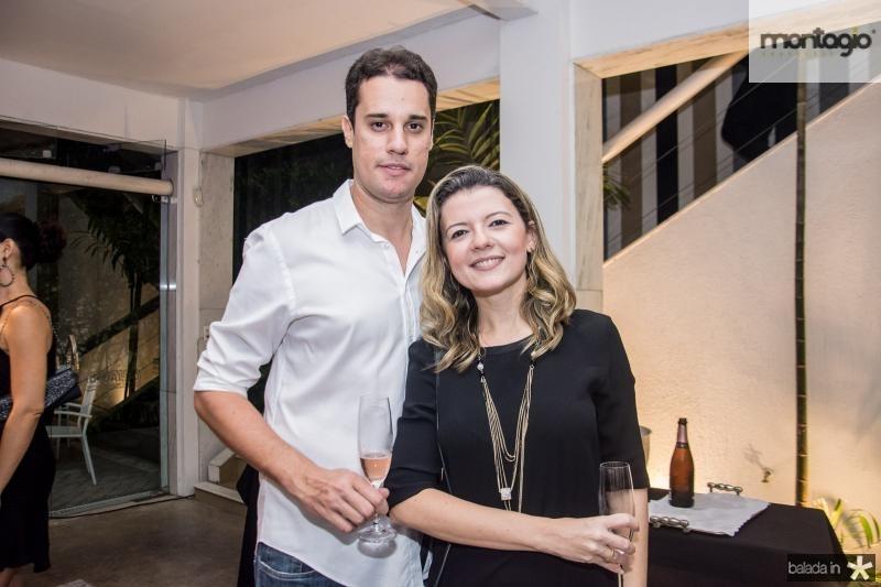Davi Nogueira e Roberta Freitas