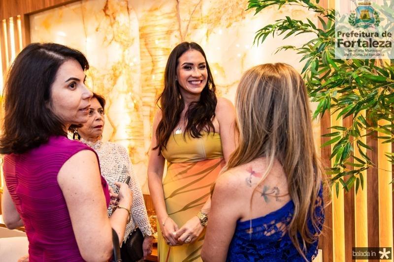 Alda Oliveira, Emilse Barros, Luciana Carioca e Adelia Albuquerque