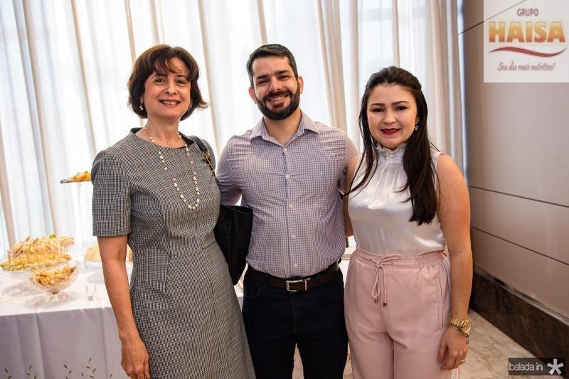 Cintia Diogenes, Vladmir Soares e Darla Lopes