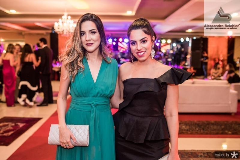 Isabela Sullivan e Natalia Eleuterio
