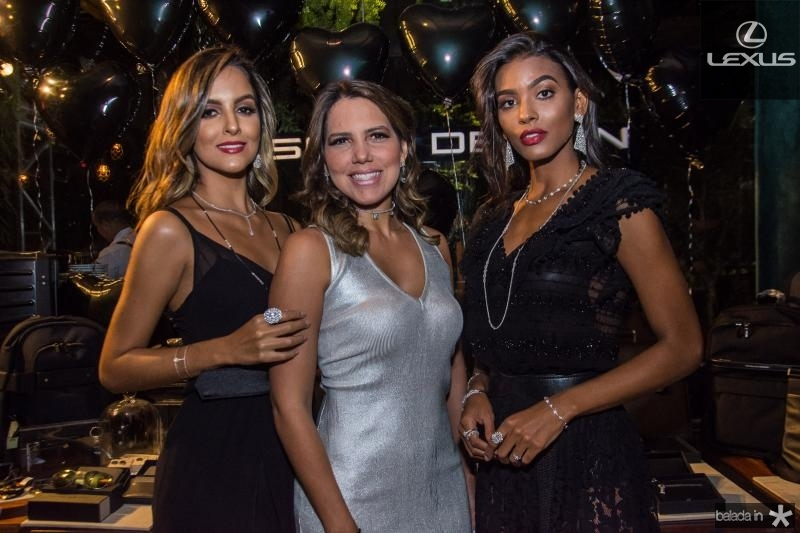 Jey Oliveira, Ana Carolina Fontenele e Anaiza Ferreira