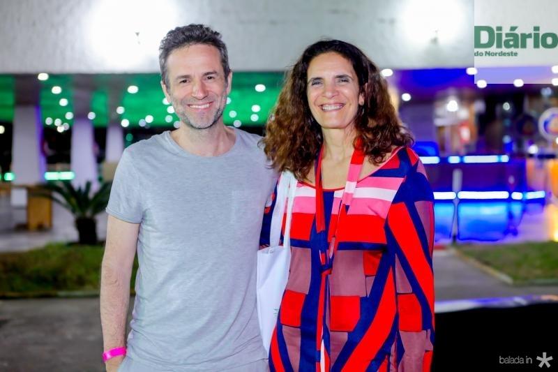 Gustavo Salmeron e Andrea Cals