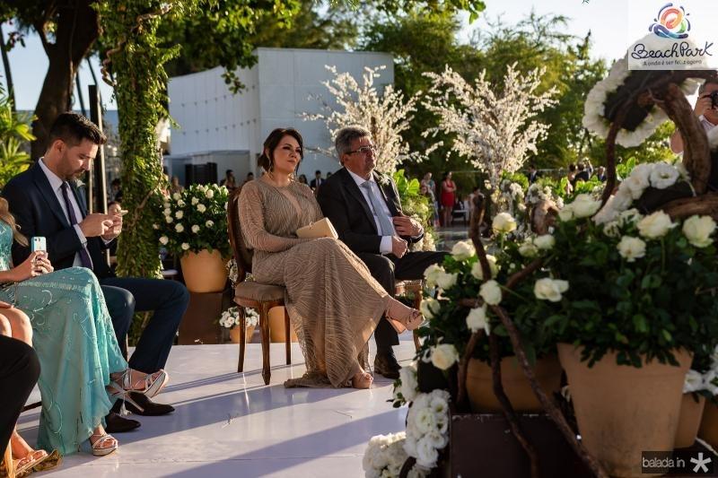 Cerimonia de Erica Dantas e Pedro Vasconcelos (