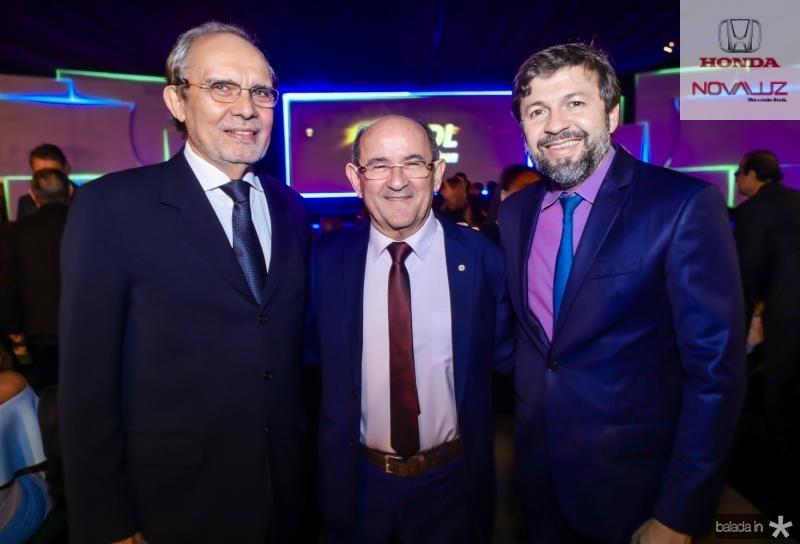 Joao Teixeira, Antonio Bauman e Elcio Batista
