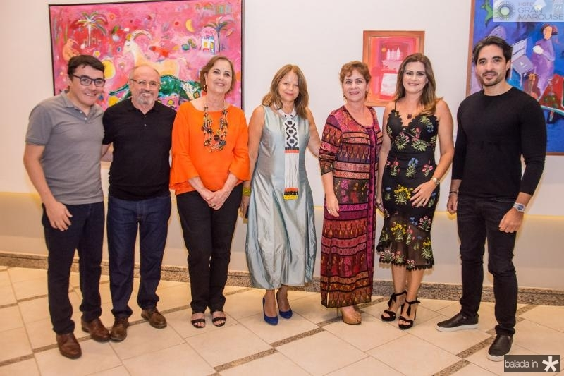 Junior Gomes, Vando Figueiredo, Ines Fiuza, Mariola Landowska, Lilia Quindere, Ivana Bezerra e Rodrigo Porto