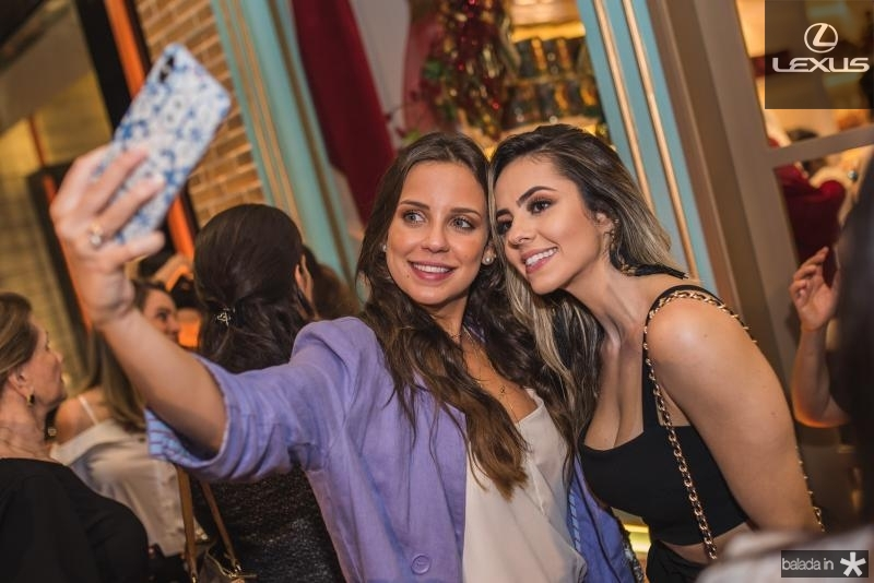 Fernanda Levy e Tamires Dias