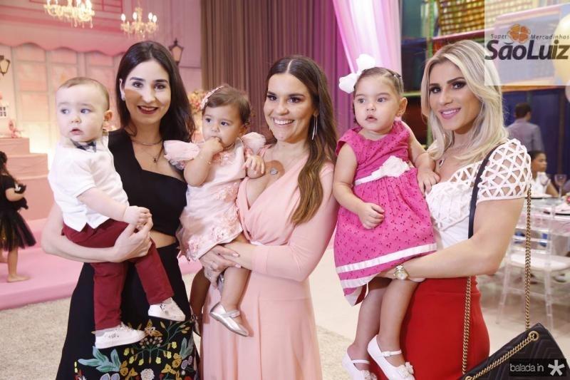 Julinho e Sofia Castenheira, Leis e Ana Paula Domene, Leticia e Patricia Holanda 1