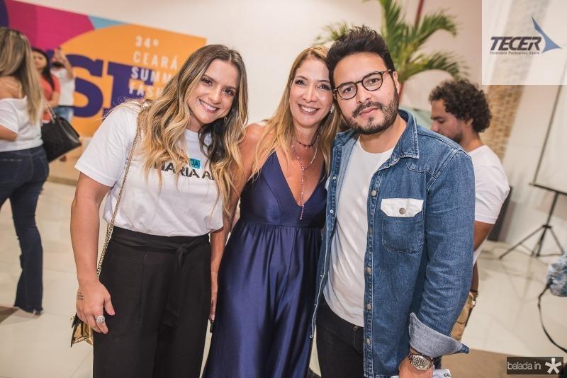 Rebeca Thomaz, Dani Holanda e Vinicius Machado