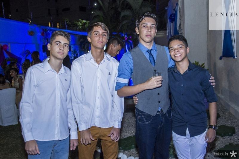 Gabriel Victor, Joao Pedro, Andre Lima e Sueid