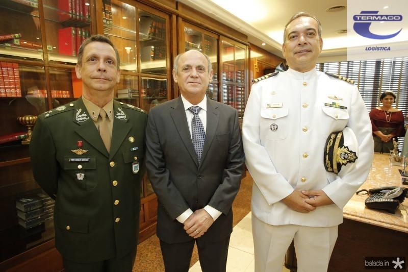 General Cunha Matos, Gladyson Pontes e Comandante Madson Cardoso