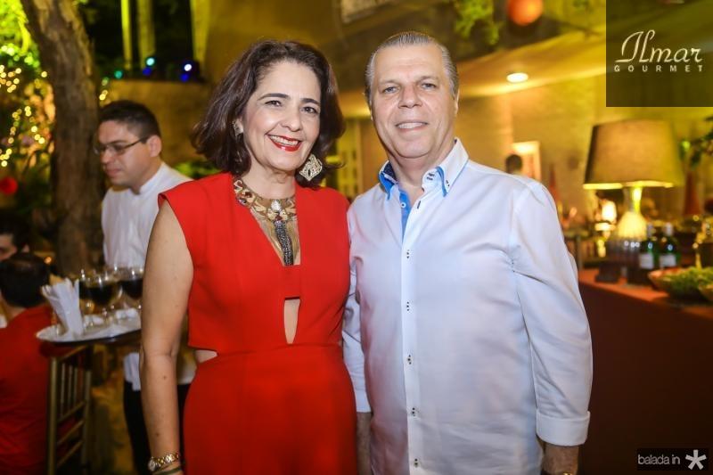 Giana e Claudio Studart