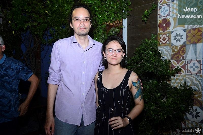 Bruno Veras e Gabriela Dantas