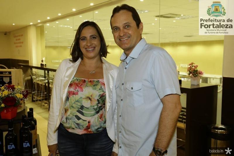 Andrea Fiuza e Alexandre Fialho