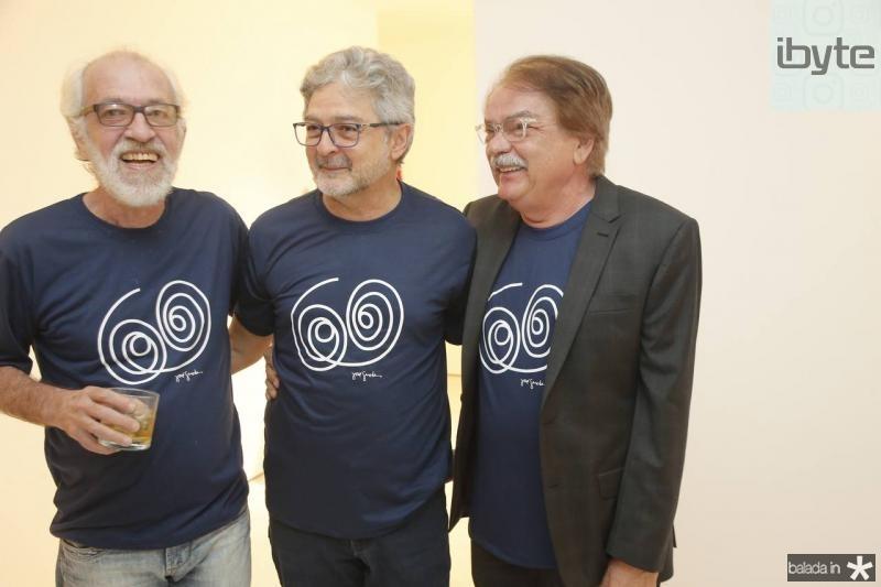 Silas de Paula, Nilton Almeida e Padua Araujo