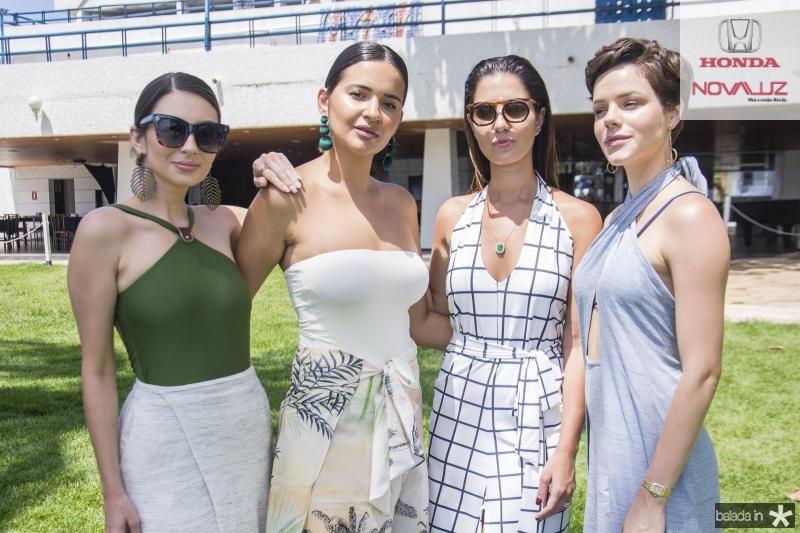 Van Duarte, Rebeka Guerra, Nicole Pinheiro e Paulinha Sampaio