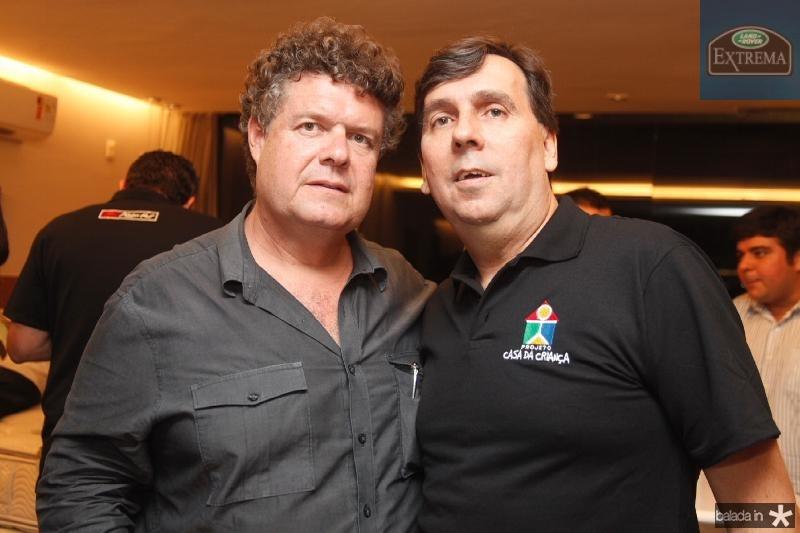 Evandro Colares e  João Mendonça