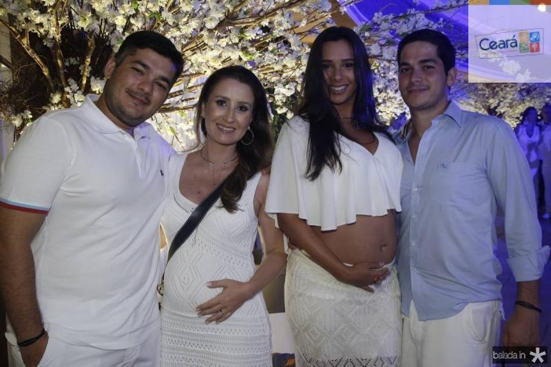 Helio, Bruna, Luciana e Joao Victor Couto