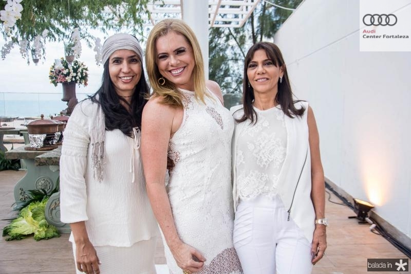 Regina Falcao, Karla Ito e Marcia Sousa