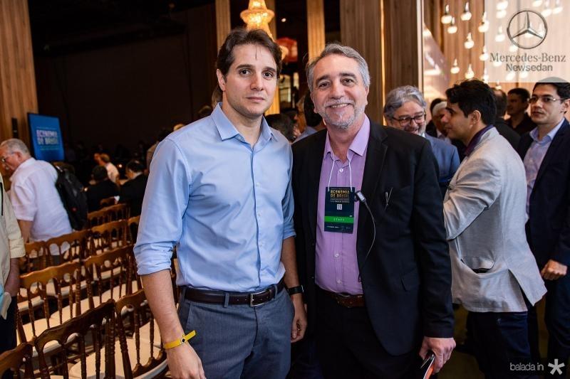 Benjamin Oliveira e Mauro Costa