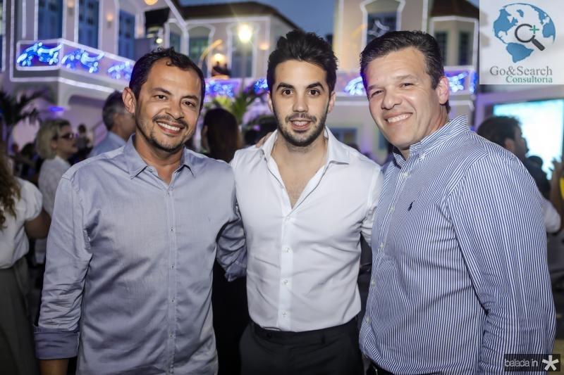 Ed Lucio, Netinho Bayde e Ferruccio Feitosa