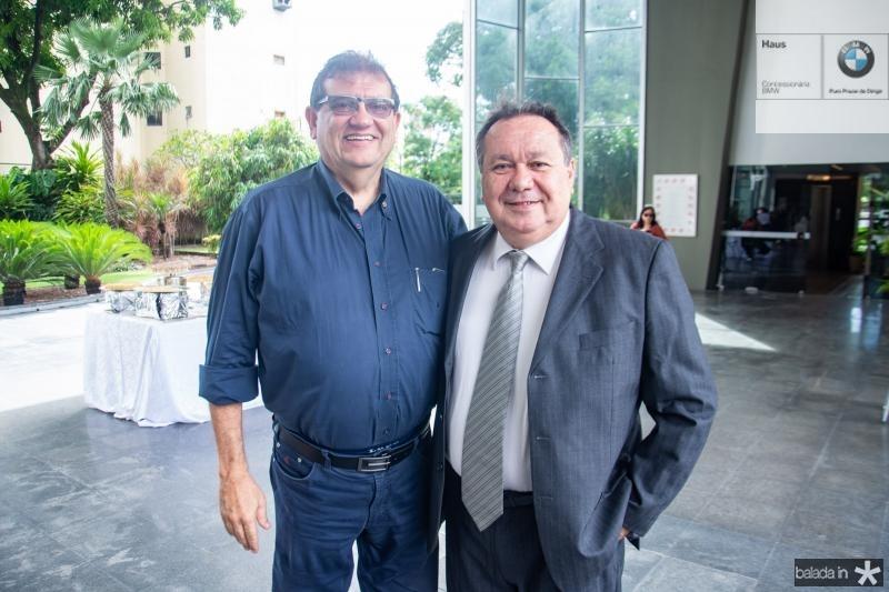 Francisco Kubrusly e Marcus Vinicius