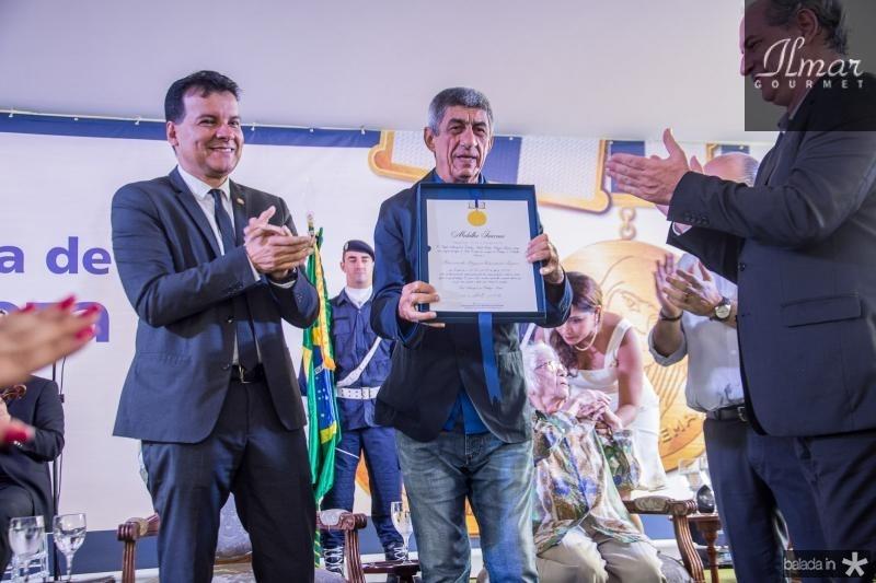 Ciro Gomes, Ezio Feitosa, Fagner Lopes e Roberto Claudio