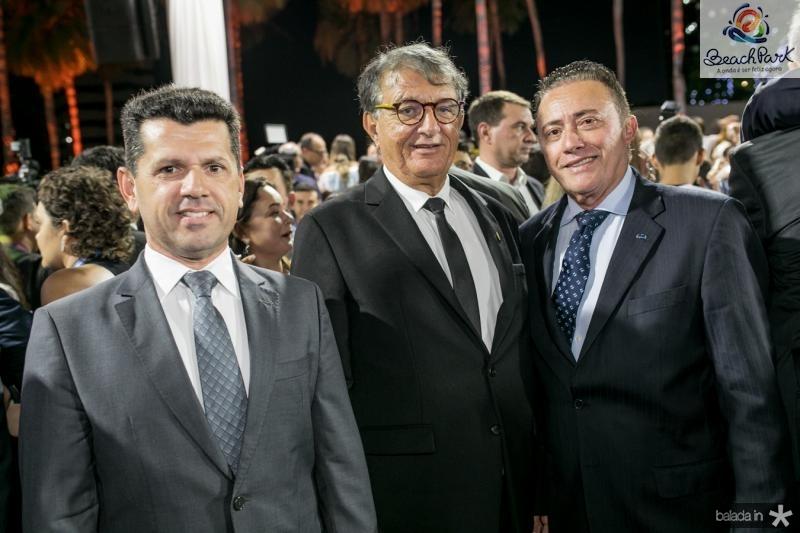 Erick Vasconcelos, Arialdo Pinho e Darlan Leite
