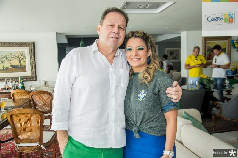 Julio Ventura e Tatiana Luna