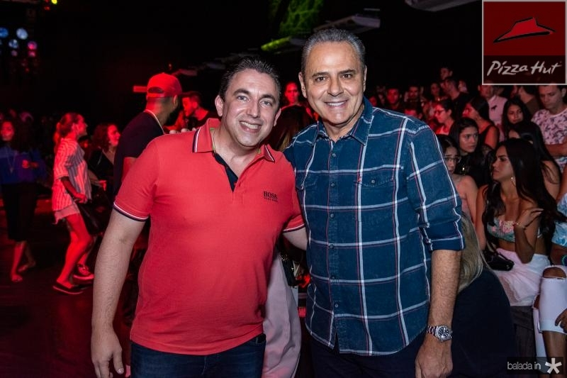 Rodrigo Pereira e Luis Roberto
