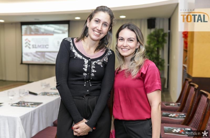 Alessandra Romano e Mariana Pontes
