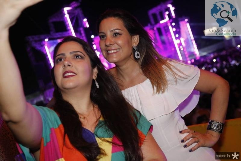 Olga Muniz e Roberta Andrade